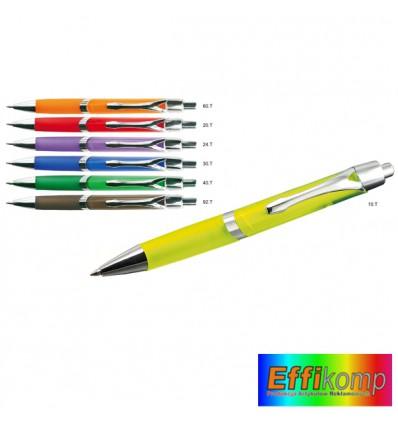 Plastikowy długopis kolorowy BRITON
