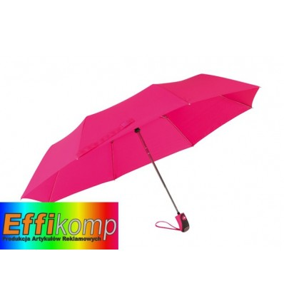 Parasol automatyczny, COVER, różowy.