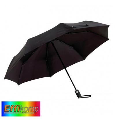 Parasol ORIANA, automatyczny, wiatroodporny,czarny.
