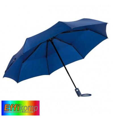 Parasol ORIANA, automatyczny, wiatroodporny, granatowy.