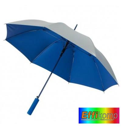 Parasol JIVE, automatyczny, srebrno niebieski.