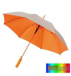 Parasol JIVE, automatyczny, srebrno pomarańczowy.
