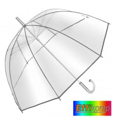 Parasol BELLEVUE, automatyczny, transparentny.
