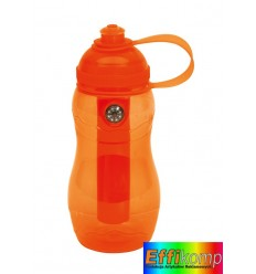 Butelka, ON TRACK, pomarańczowa.