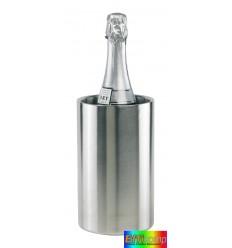 Pojemnik do schładzania butelek, MOSCOW, srebrny.