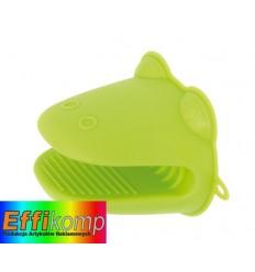 Silikonowe rękawiczki, CROCO, zielony.