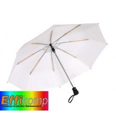 Parasol automatyczny, wiatroodporny, BORA, biały.