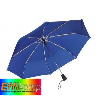 Parasol automatyczny, wiatroodporny, BORA, niebieski.