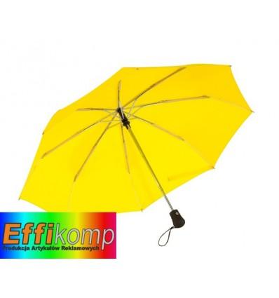 Parasol automatyczny, wiatroodporny, BORA, żółty.