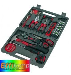 Zestaw narzędzi, 42-części, MASTERKIT, czarny/czerwony.