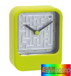 Zegar na biurko, MAZE, zielony.