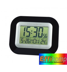 Cyfrowy zegar, PUNCTUAL, czarny.