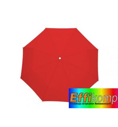 Parasol wodoodporny, TWIST, czerwony.