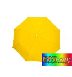 Parasol wodoodporny, TWIST, żółty.