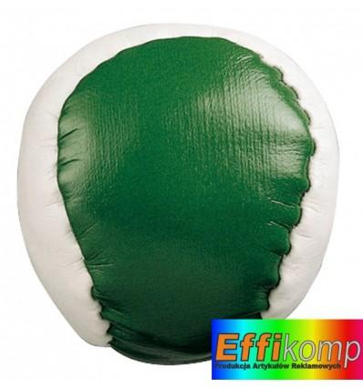 Piłeczka antystresowa, JUGGLE, biały/zielony.