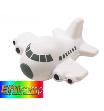 Samolot antystresowy, TAKE OFF, biały/czarny.