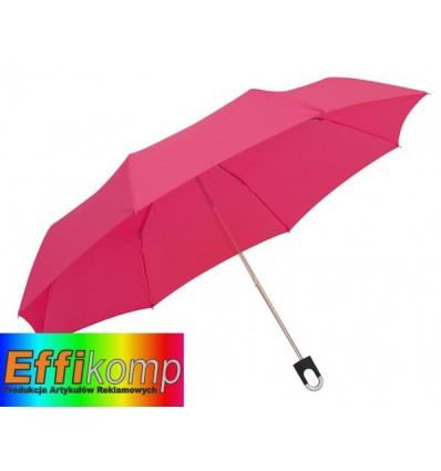 Parasol wodoodporny, TWIST, różowy.
