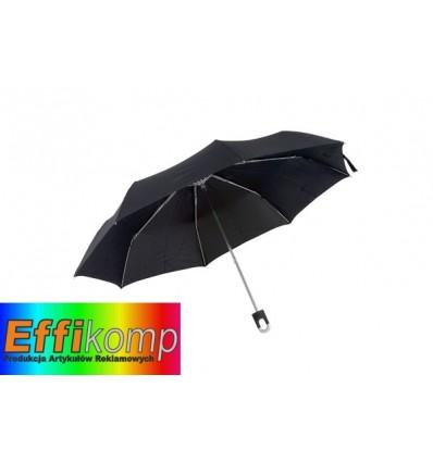 Parasol wodoodporny, TWIST, czarny.