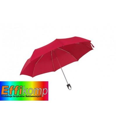 Parasol wodoodporny, TWIST, ciemnoczerwony.