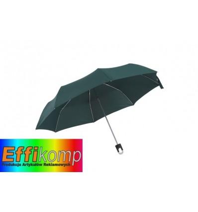 Parasol wodoodporny, TWIST, ciemnozielony.