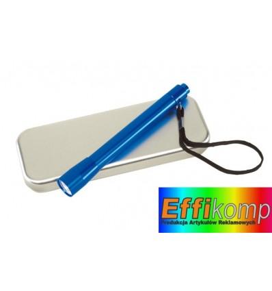 Aluminiowa lampka, SPOT, niebieski.