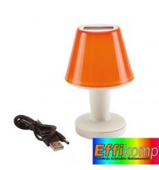 Lampa słoneczna, ILLUMINATION, pomarańczowy.