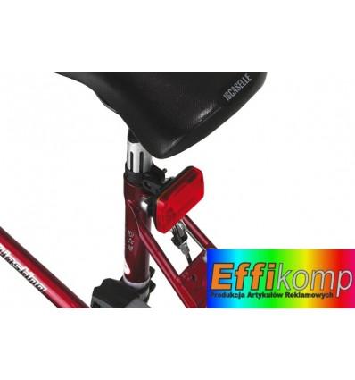 Lampka rowerowa, GUARD, czerwony.
