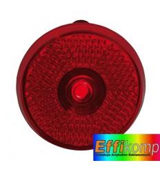 Lampka migająca, okrągła, SHOWDOWN, czerwony.
