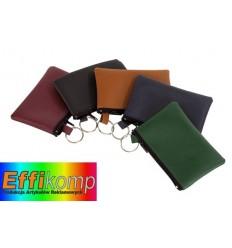 Sakiewka na klucze, HOME, brązowy/zielony/czerwony/niebieski/czarny.