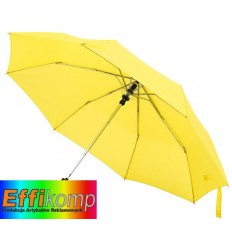 Automatyczny parasol kieszonkowy, PRIMA, żółty.