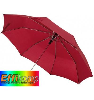 Automatyczny parasol kieszonkowy, PRIMA, bordowy.