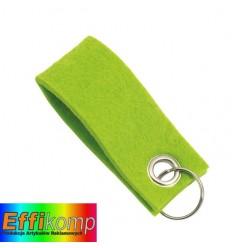 Brelok filcowy, FELT, zielony.