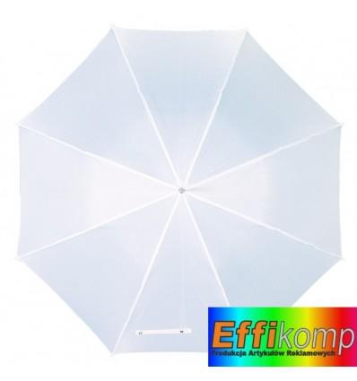 Parasol automatyczny, DANCE, biały.