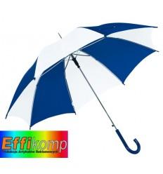 Parasol automatyczny, DISCO, niebieski/biały.