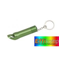Latarka LED, TASK, zielony.
