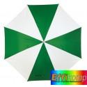 Parasol automatyczny, DISCO, zielony/biały.