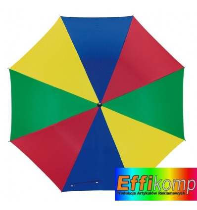 Parasol automatyczny, DISCO, wielokolorowy.