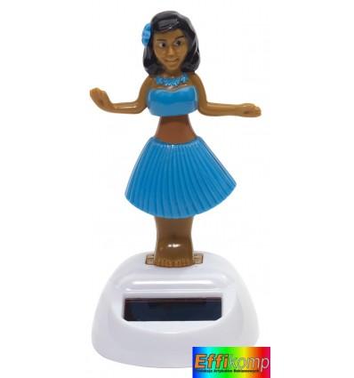 Figurka solarna, HALUNA, niebieski.
