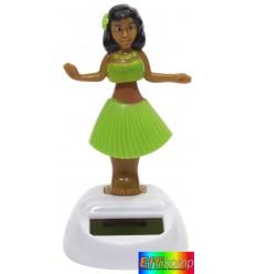 Figurka solarna, HALUNA, zielony.