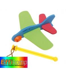 Samolot, SKY HOPPER, zielony/ czerwony/ niebieski.