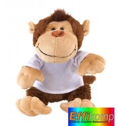 Małpka pluszowa, INGO, brązowy/beżowy.
