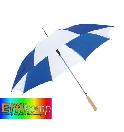 Parasol automatyczny, SALSA, niebieski/biały.