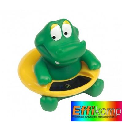 Termometr do kąpieli, KROKETT, zielony/żółty.