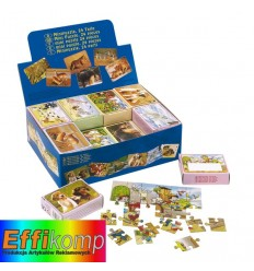 Mini puzzle, SELECTION, wielokolorowy.