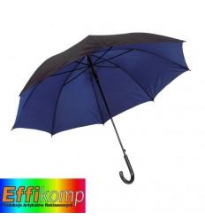 Parasol automatyczny, DOUBLY, czarny/niebieski.