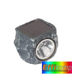 Kamień solarny, ROCKSTAR, szary.
