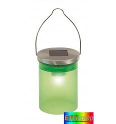 Słój solarny, CELEBRATION, zielony.