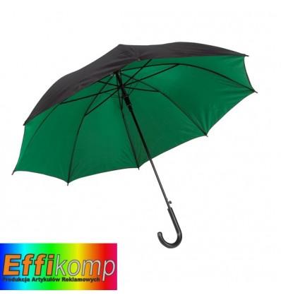Parasol automatyczny, DOUBLY, czarny/zielony.