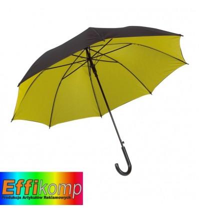 Parasol automatyczny, DOUBLY, czarny/żółty.