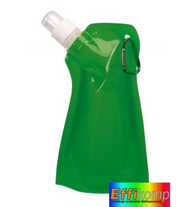 Butelka wodna, SIMPLY MAGIC, zielony.